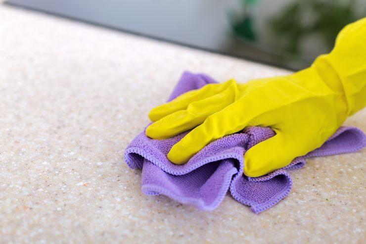Come pulire il quarzo