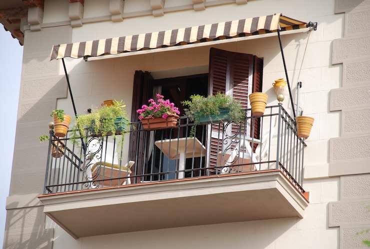 come cercare casa balcone