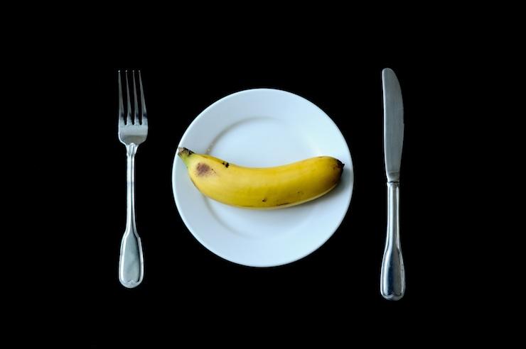 come mangiare banana galateo