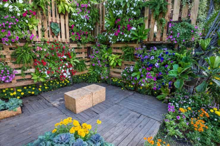 giardino verticale come realizzarlo