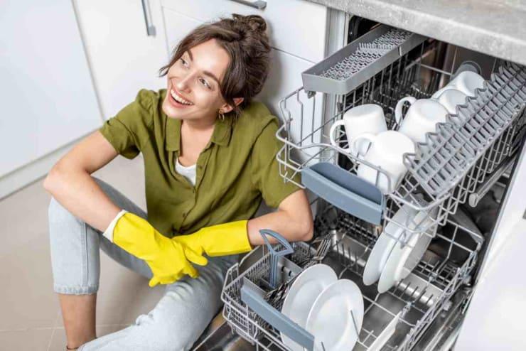 come pulire lavastoviglie