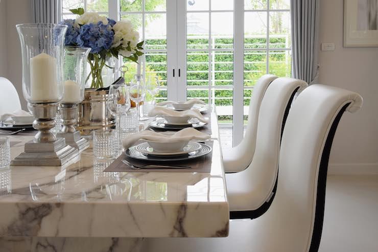 tavolo da pranzo marmo