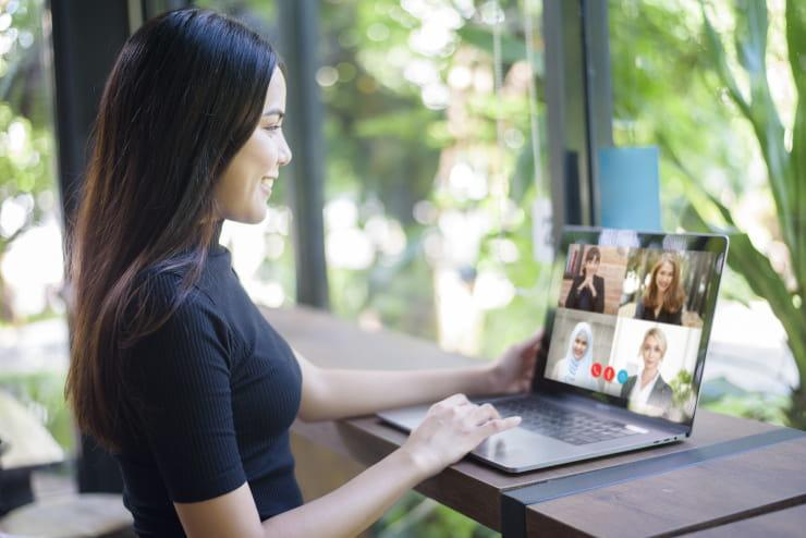 videoconferenza impeccabili schermo