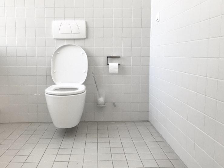come pulire wc