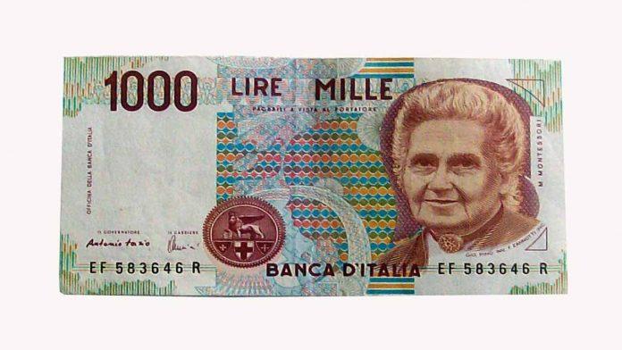 il valore di mille lire
