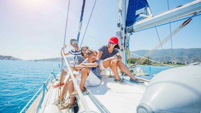 Andare in vacanza in barca