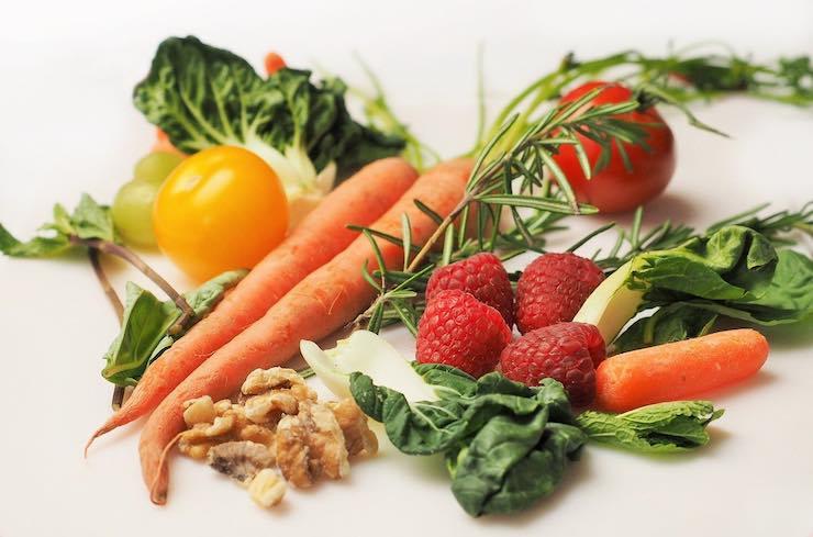 Dieta del riso: frutta e verdura