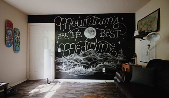 La pittura lavagna: pochi consigli pratici