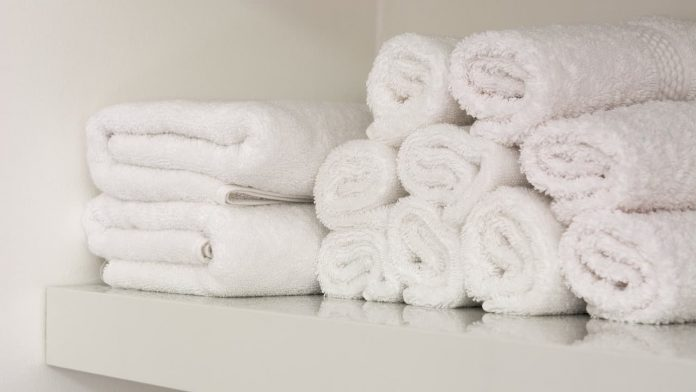 come sbiancare asciugamani
