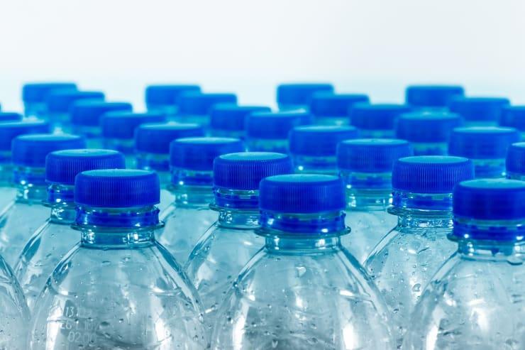bottiglie plastica acqua