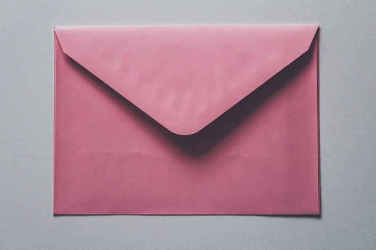 busta lettera realizzarla bambini