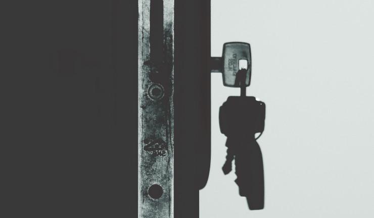 chiave spezzata serratura