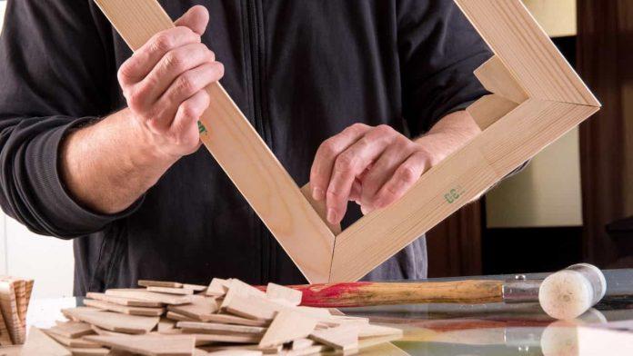 come realizzare cornice legno