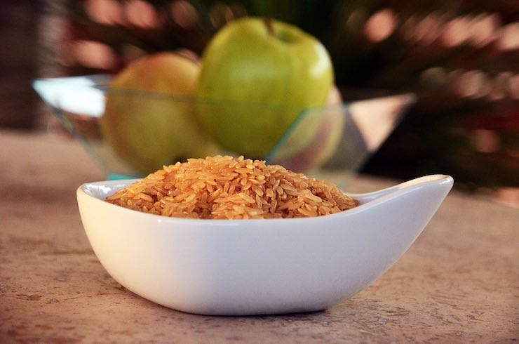 Dieta del riso: solo frutta