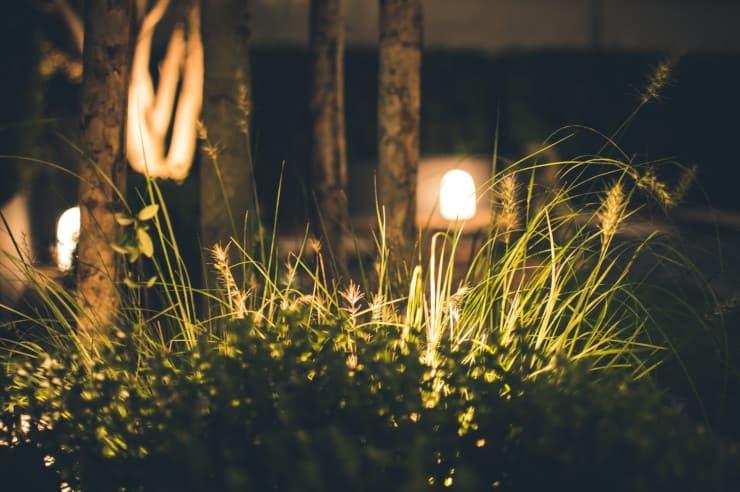 illuminare giardino senza elettricità