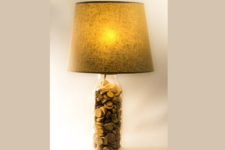lampada bottiglia