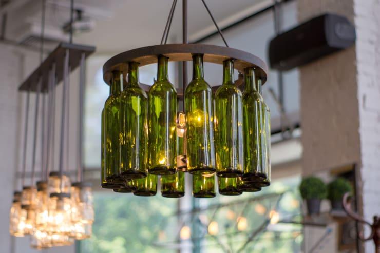 lampade bottiglie