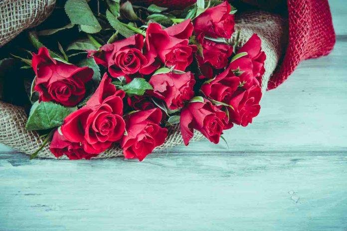 Regalare fiori per amore