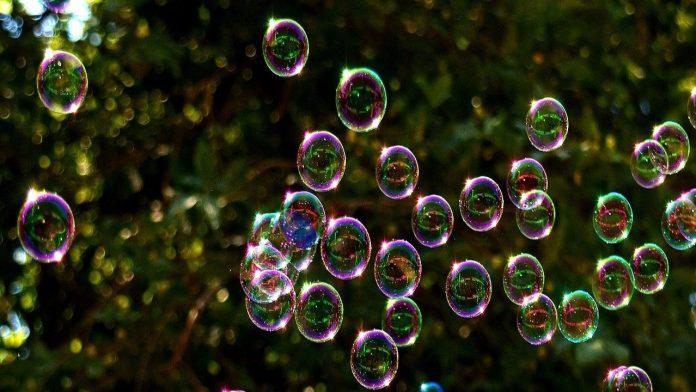 Come fare bolle di sapone