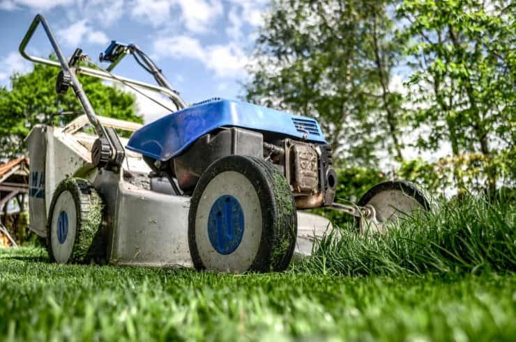 come tagliare erba prato
