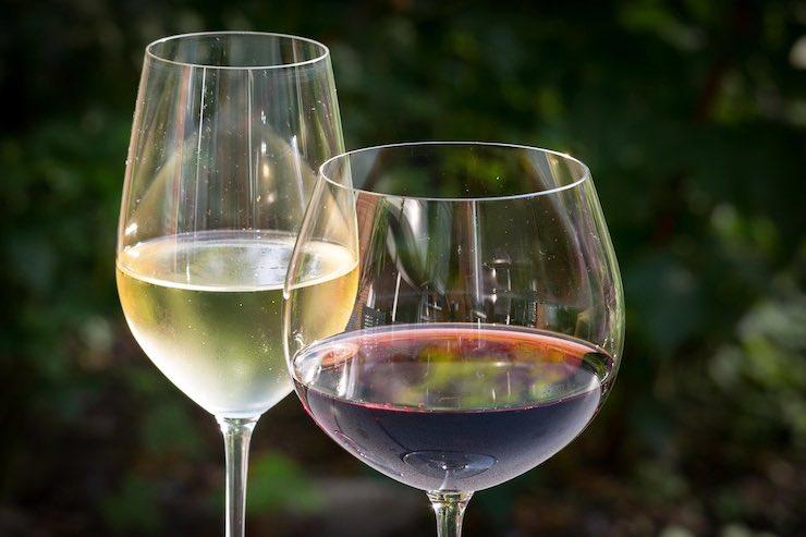 Servire il vino: bianco o rosso?