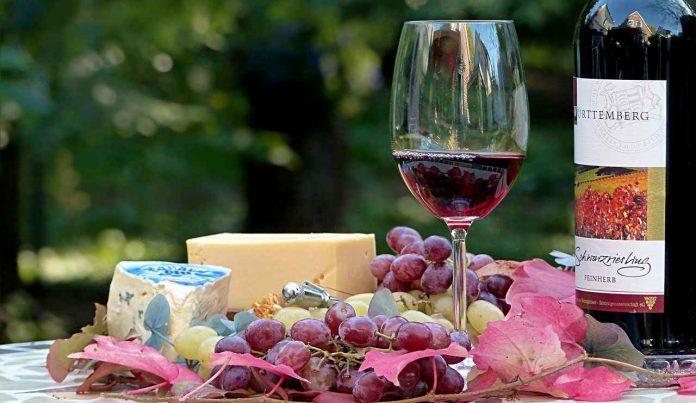 abbinare i vini al cibo
