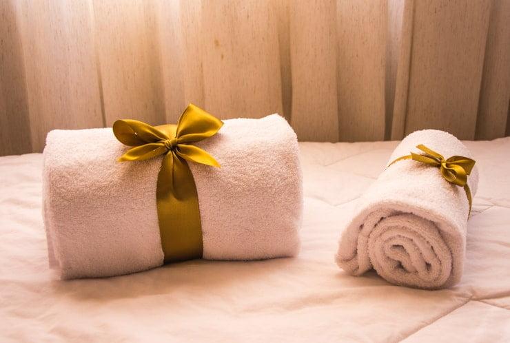 asciugamani morbidi