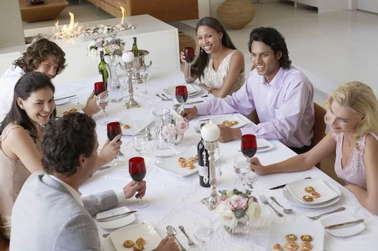 Posti a tavola: le regole da seguire