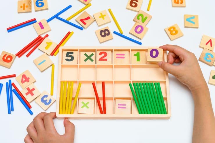 insegnare tabelline bambini