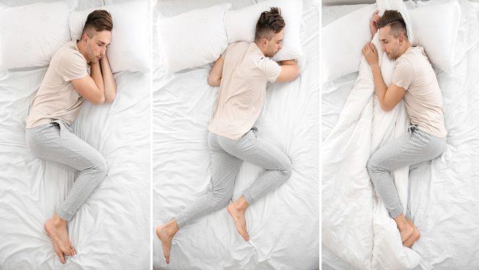 Le posizioni che assumiamo durante il sonno rivelano la nostra personalità