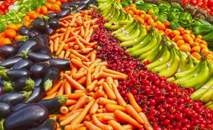 frutta e e verdura