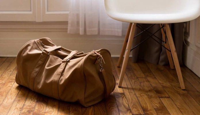 valigia per una vacanza in montagna