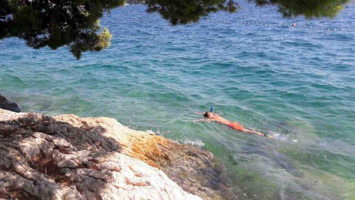 snorkeling scogli rischio ferite