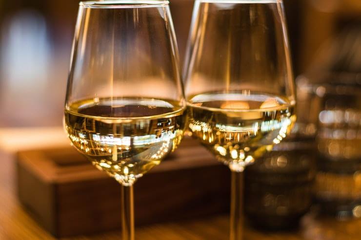 bicchiere vino medico